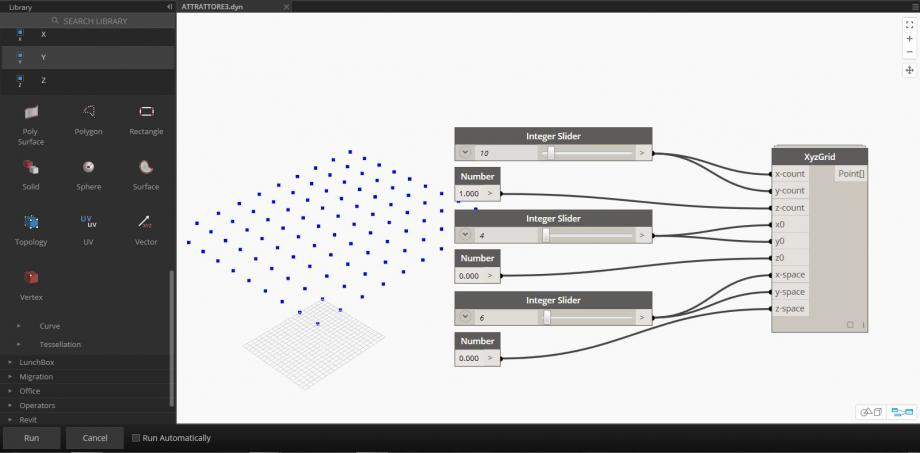 Make an Attractor linked with a Reference Point | bim