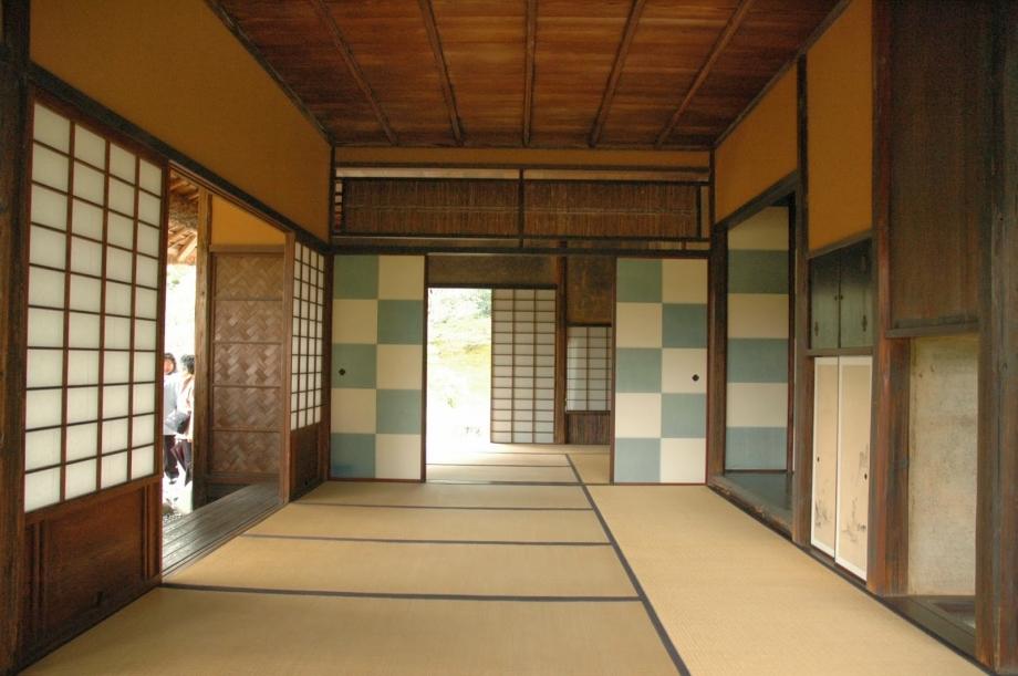 Antonucci pani idea progettuale la casa tradizionale for Casa giapponese tradizionale