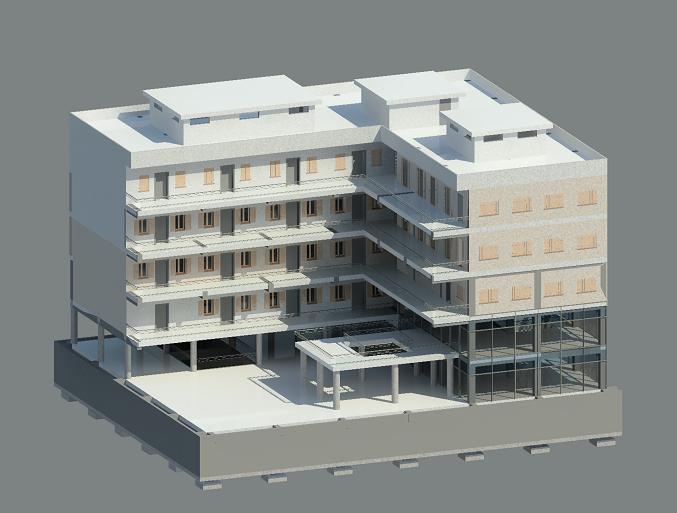 Edificio a ballatoio for Software di progettazione di edifici domestici